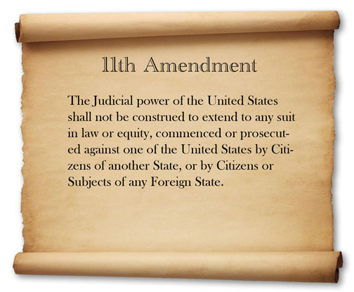 The Exact Wordings Of Amendments 11 27 The Us Constitution